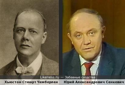 Хьюстон Стюарт Чемберлен и Юрий Александрович Сенкевич