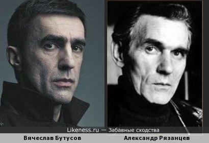 Вячеслав Бутусов и Александр Рязанцев
