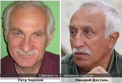 Петр Черняев и Николай Досталь
