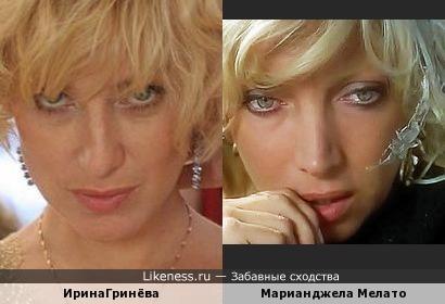 ИринаГринёва и Марианджела Мелато