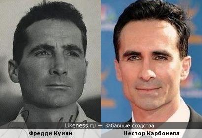Фредди Куинн и Нестор Карбонелл