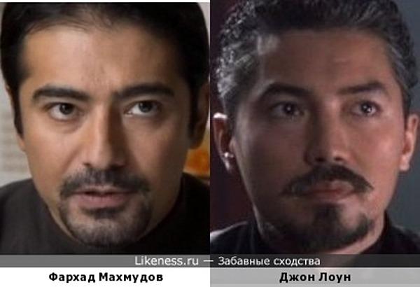 Фархад Махмудов и Джон Лоун