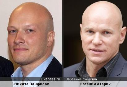 Никита Панфилов и Евгений Атарик