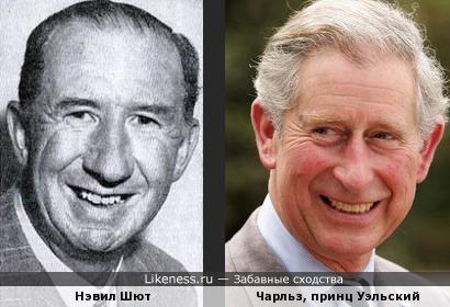 Нэвил Шют и Чарльз, принц Уэльский