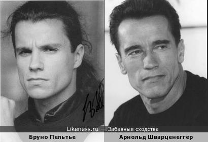 Арнольд Шварценеггер и Бруно Пельтье
