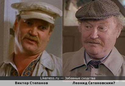 Виктор Степанов и Леонид Сатановский