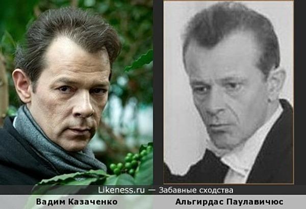 Вадим Казаченко и Альгирдас Паулавичюс
