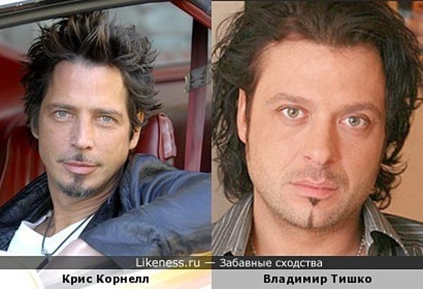 Крис Корнелл и Владимир Тишко