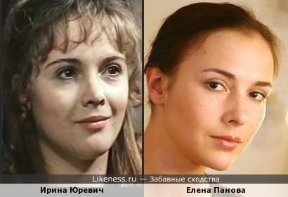 Ирина Юревич и Елена Панова