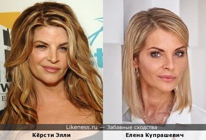 Кёрсти Элли и Елена Купрашевич