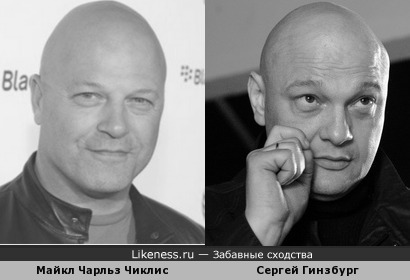Майкл Чарльз Чиклис и Сергей Гинзбург