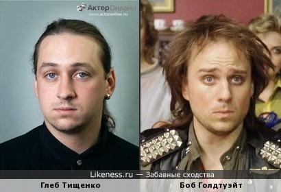 Глеб Тищенко и Боб Голдтуэйт