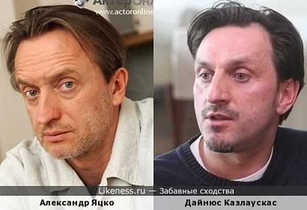 Александр Яцко и Дайнюс Казлаускас