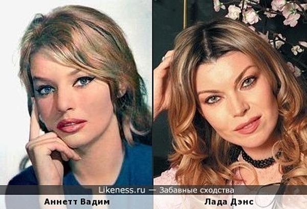 Аннетт Вадим и Лада Дэнс