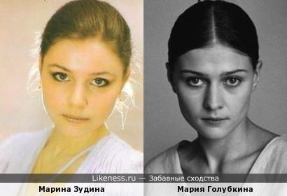 Марина Зудина и Мария Голубкина