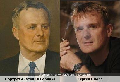 Писали портрет Анатолия Собчака, а получился... почти Сергей Пиоро