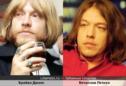 Брайан Джонс и Вячеслав Петкун