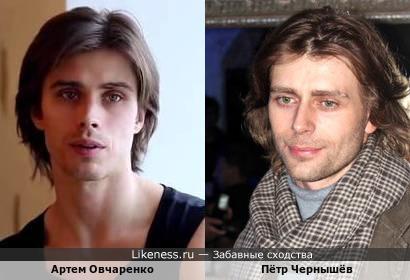 Артём Овчаренко и Пётр Чернышёв