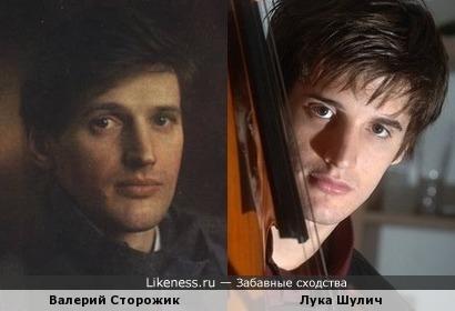 Лука Шулич похож на молодого В. Сторожика