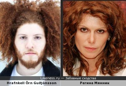 Барабанщик Agent Fresco похож на Регину Мянник