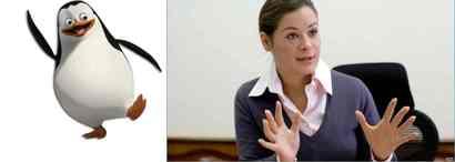 М.Гайдар и пингвин