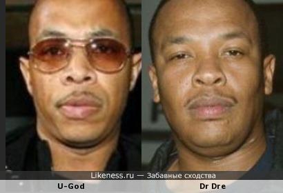 U-God похож на Dr Dre