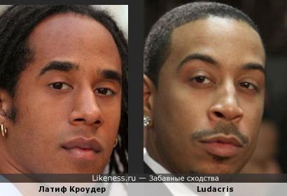 Латиф Кроудер и Ludacris