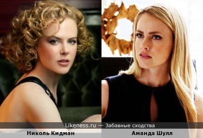 Nicole Kidman vs Amanda Schull