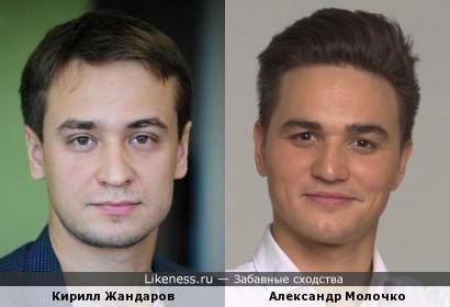 Кирилл Жандаров и Александр Молочко
