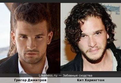 Григор и Кит похожи