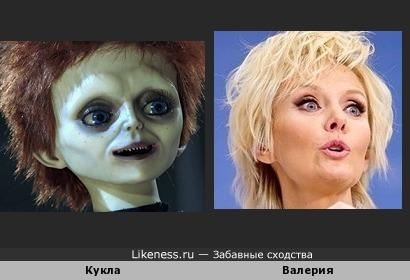 Валерия похожа на куклу