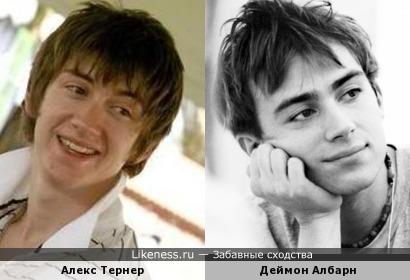 Алекс Тернер и Деймон Албарн
