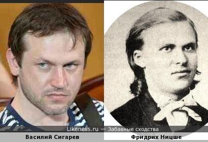 драматург Сигарев похож на молодого Ницше