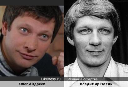 актёр из сериала Менты похож на Владимира Носика