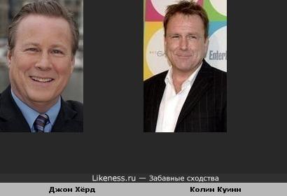Джон Хёрд и Колин Куинн похожи