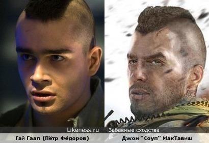 """Главный персонаж """"Call of Duty 4"""" похож на образ П. Фёдорова."""