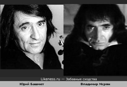 Юрий Башмет похож на Владимира Мсряна в роли Паганини