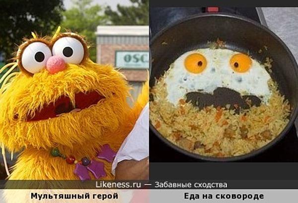 "Персонаж из ""Улицы Сезам"