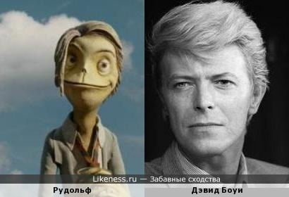 персонаж мультфильма напомнил Дэвида Боуи
