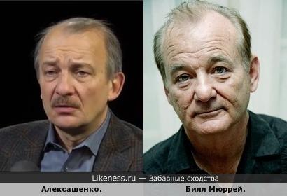 Алексашенко стал похож на Билла Мюррея.