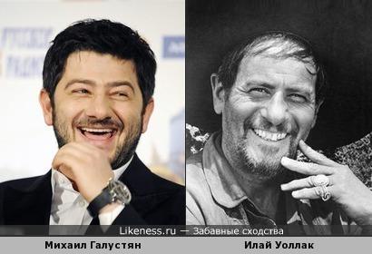 Улыбки: Михаил Галустян и Илай Уоллак