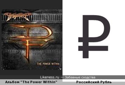 """Обложка альбома группы DragonForce """"The Power Within"""