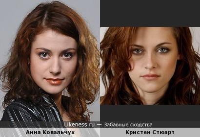Кристен Стюарт и Анна Ковальчук