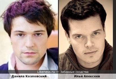 Два актёра в чём-то похожи