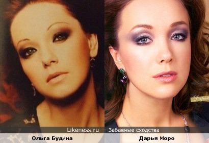Ольга Будина на этом фото похожа на Дарью Мороз