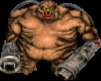 Бодибилдер похож на монстра из игры