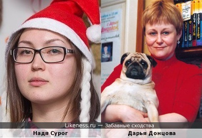 Сурог похожа на Донцову
