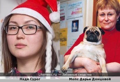 удивительное сходство