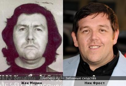 Французский преступник и британский актёр немножко похожи