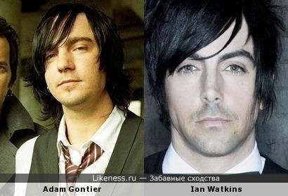 Adam Gontier и Ian Watkins